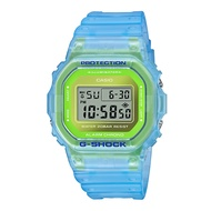 CASIO G-SHOCK DW-5600LS-2 夏季必備半透明螢光流行腕錶