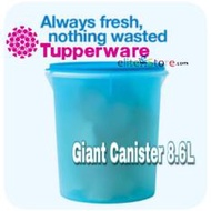 TUPPERWARE One Touch Topper Giant Canister 8.6L