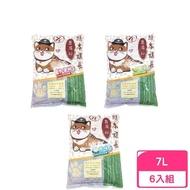 日本熊本課長豆腐貓砂《原味 綠茶 水蜜桃》7L/2.8kg(6包組)