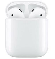 【Apple原廠盒裝】AirPods 2代藍芽耳機 (搭配有線充電盒) 2019新版 台灣公司貨⧓好買網