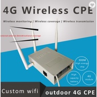 Customized 4g LTE outdoor CPE wifi router with sim card slot