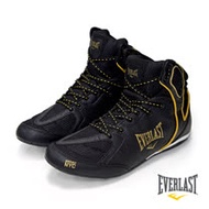 【EVERLAST】PROFESSIONAL BOXING BOOTS輕量拳擊鞋 -黑色