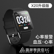 2021搶先款 智慧手環 智慧手錶血壓心率監測儀運動手環男電子多功能檢測計步器 YTJ 新年狂歡