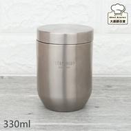 Lucuku鈦鑽隔熱杯純鈦泡茶杯咖啡杯330ml茶海分享杯-大廚師百貨