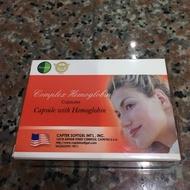 美國Natural D血紅素循環好氣色 複方血紅素膠囊(0.7g/粒,30粒/盒)*6盒