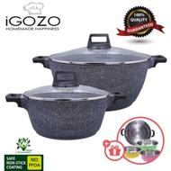 🔥🔥Set Cookware IGOZO Gigantic Granite Pot + Free Gift