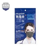 【病毒盾Virus OUT】N99口罩(2入)高效濾能 防疫-miffybaby