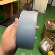 PVC 壓紋管路膠帶 銀灰 寬48.0mm