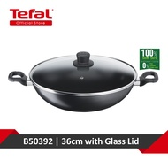 Tefal Cook Easy Chinese Wok 36cm w/lid B50392