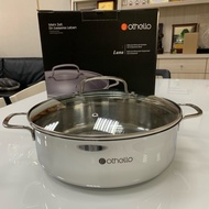 免運<美樂家五月新品>德國歐德羅 Othello Classic 不鏽鋼湯鍋