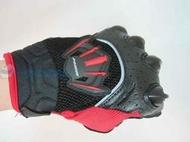@一間安全帽@ M2R G-06 黑/紅 夏季防摔手套 短版手套