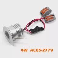 24Pcs 4W COB LEDโคมไฟเพดานแสงAC220V/110Vห้องโถงทางเดินโชว์รูมตกแต่งโคมไฟCOB LEDโคมดาวน์ไลท์