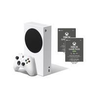 【現貨】Xbox Series S 主機 + Game Pass  Ultimate 3個月*2 套組