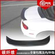 Mazda 馬自達Mazda MX5 NA MK1 Miata 定風翼 碳纖維卡夢TRD尾翼改裝 壓尾亦裝飾改裝件