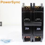 群加 Powersync 亞迪無熔絲開關 1P/30A 2P/20A 2P/30A BH