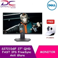"""【DELIVERY IN 24 HOURS】 DYNACORE - Dell S2721DGF 27"""" 165Hz QHD FAST IPS FreeSync Anti Glare Gaming Monitor"""