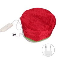 220Vที่ถอดออกได้ไฟฟ้าเครื่องอบไอน้ำผมหมวกอุณหภูมิควบคุมหมวกทำความร้อนผมดูแลเครื่องมือUK