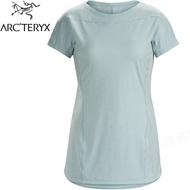 Arcteryx 始祖鳥 Taema 透氣快乾短袖圓領排汗衣/排汗T恤 18909 女款 永恆灰