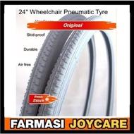 Esco / Mer's Wheelchair PU Solid Tyre/ Tayar Mati Kerusi Roda 1 piece