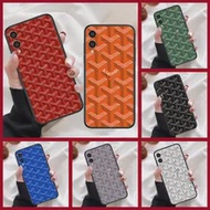 Goyard ออกแบบโทรศัพท์มือถือที่มีสีสันสำหรับ Huawei Honor 6A 7A 7C 8 8A 8X 9 9X 10 10i 20 Lite pro Play สีดำด้านหลังสวย Prime Soft