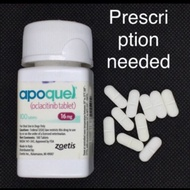 APOQUEL 16 MG SOLD per tablet P200/tab ( strictly w RX ) pack of 7 tablets