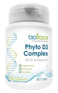 益生活 - Biotrace 素食綜合維他命D3+K2+鎂 (60粒)