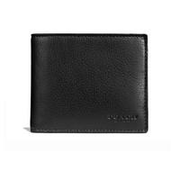 COACH  F74991 經典時尚男士簡約短款錢夾