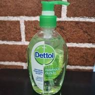 DETTOL เดทตอล เจลล้างมืออนามัย สูตรหอมสดชื่นผสมอโลเวล่า 200ML.