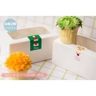 【純白2格裝-50入下標區】開窗 2粒 杯子蛋糕盒 6寸芝士蛋糕盒 包裝盒 馬芬盒 6寸 蛋糕盒 布丁盒 蛋塔盒 餅乾盒 奶酪盒