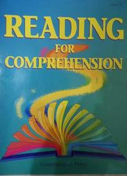 Reading for Comprehension Level A 英文閱讀好書