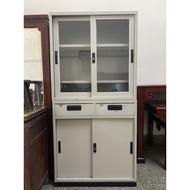 台中二手家具勤快二手家具-三尺鐵櫃 公文櫃 置物櫃