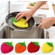 韓國熱銷加厚款草莓洗碗布