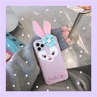 毛絨紫色兔子華為mate8手機殼mate9/10軟殼mate20x全包30/40pro女