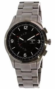 Fossil Men's Activist FTW1207 Grey Stainless-Steel Quartz Sport Watch