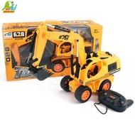 【Playful Toys 頑玩具】線控挖土機(電動挖土機 遙控挖土機 仿真挖土機)