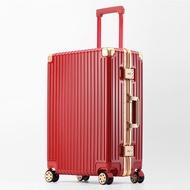 RSEMNIA กระเป๋าเดินทางล้อสากลหญิงรหัสผ่านกระเป๋าเดินทางชาย24-นิ้วins-ใหม่2021รถเข็น