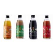 陳稼莊 即飲式(加糖) 桑椹汁/百香果汁/紅心土芭樂汁/蕃茄汁 300mlx6瓶