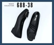 รองเท้าเเฟชั่นผู้หญิงเเบบคัชชูส้นเตารีด No. 688-38  NE&NA Collection Shoes