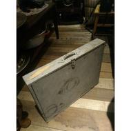 美國古董手提老木箱 復古木箱 老木盒 [BOX-0185]