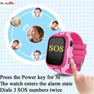 M_home A32 เด็ก Smartwatch กันน้ำนาฬิกาสมาร์ทวอชของเด็กซิมการ์ด SOS นาฬิกาข้อมือกล้อง Safe Anti-Lost LBS