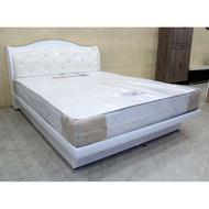 【歐風別館】雪菲斯五尺白色床頭箱【二~掀床】【基隆至台中免運費】