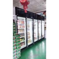 ❤瑞瑞賣場❤全新品台灣製造【雙門玻璃展示櫃】透明玻璃/冷藏展示櫃/玻璃展示冰箱/飲料冰箱/小菜冰箱/營業用玻璃冰箱/西點