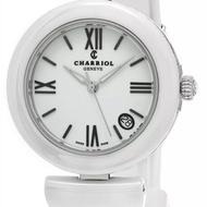 夏利豪 全新白色 陶瓷錶