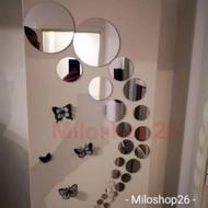 Wall Mirror Round Wall Decoration Mirror Stickers Round Mirror Stickers Mirror Circle