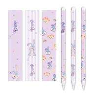 Applepencilโน้ตแปะApple pencilฟิล์มหน้าจอiPadปากกาสไตลัสสติกเกอร์รุ่นที่สองกันลื่นโน้ตแปะ2การ์ตูน