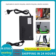 Battery 1 Plug Bicycle Ebike 48V EU Charger Electric Scooters 100240V 8A