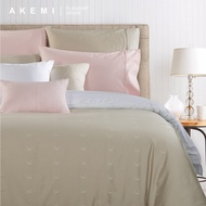 AKEMI Cotton Select Affinity - Lucars (White/ Quilt Cover Set)