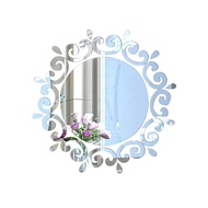 Mirror Wall Stickers Decor Foreign Trade Mirror Stickers Hot