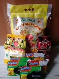 Paket Sembako Murah 4 - Beras, Gula, Kopi, Mie