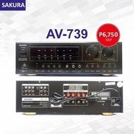 Original Sakura Amplifier AV 739